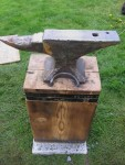 Douglas Fir Anvil Stand