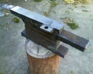 Forklift Tine Anvil