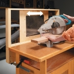 Miter Saw Dust Catcher