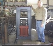60-ton Forging Press