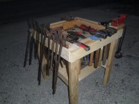 Hammer and Tool Table