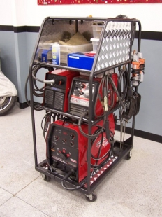 Homemade Welding and Utility Cart