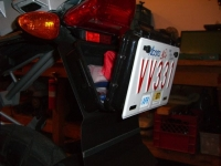 Motorcycle Storage Compartment