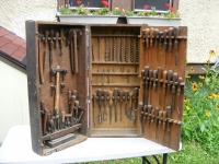 Wooden Tool Cabinet