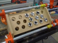 Wood Collet Rack