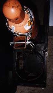 homemade oxygen and acetylene tank