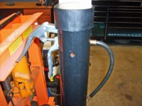 Grease Gun Storage Container