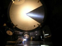 LED Lighting For An Optical Comparator
