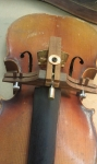 Violin Bridge-Fitting Fixture