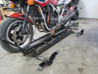 Motorcycle Lift Dolly Modification