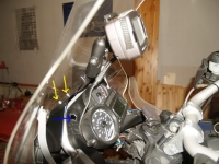 Motorcycle GPS Mounting Bracket