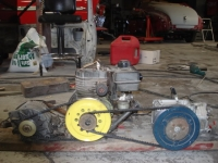 Combination Charger and Air Compressor