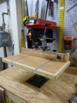 Auxiliary Drill Press Table