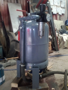Homemade Pressure Pot Sandblaster - HomemadeTools.net
