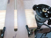 Tapered Sliding Dovetail Slot Jig