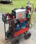 Steerable Welding and Plasma Cart