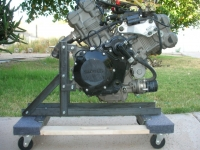 Mobile Engine Stand