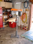 Tilting Drill Press Table