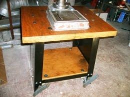 Homemade Drill Press Stand