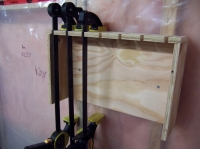 Plywood Clamp Rack