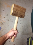 Leather-Faced Mallet