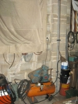 Compressed Air Drying Setup