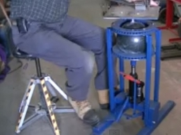 Homemade Rotating And Tilting Welding Table