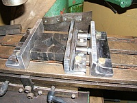 Mill Table Vise