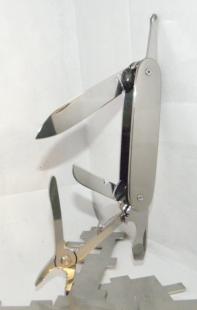 Homemade Titanium Swiss Army Knife Scales Homemadetools Net