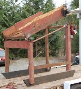 Homemade Dirt Screener - HomemadeTools.net