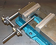 Mill Vise and Stop