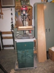 Drill Press Stand and Cabinet