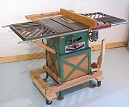 Mobile Table Saw Base