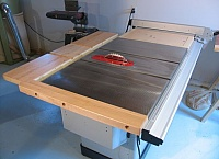 Table Saw Outfeed and Side Extension