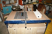 Tablesaw and Router Combo