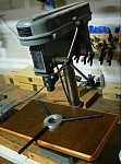 Wooden Surface for Drill Press Table