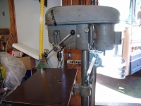 Drill Press Table and Winch