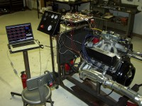 Engine Test and Diagnostic Stand