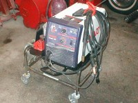 Welding Cart from Laundry Cart