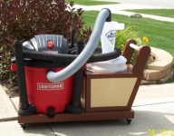 Vacuum and Cyclone Cart