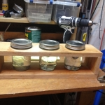 Paint Thinner Jar Rack