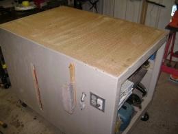 Homemade Mobile Downdraft Table