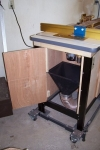 Router Table Dust Collection Funnel