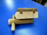 Sanding Block and Wing Nut Key