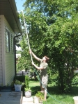 Rain Gutter Cleaner