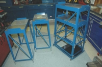 Elevated Stands for Corner Balance Plates