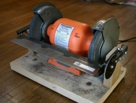 Bench Grinder Table