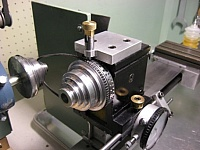Index Plate for Taig Lathe