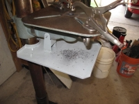 Drill Press Debris Tray