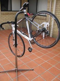 Homemade Bicycle Repair Stand